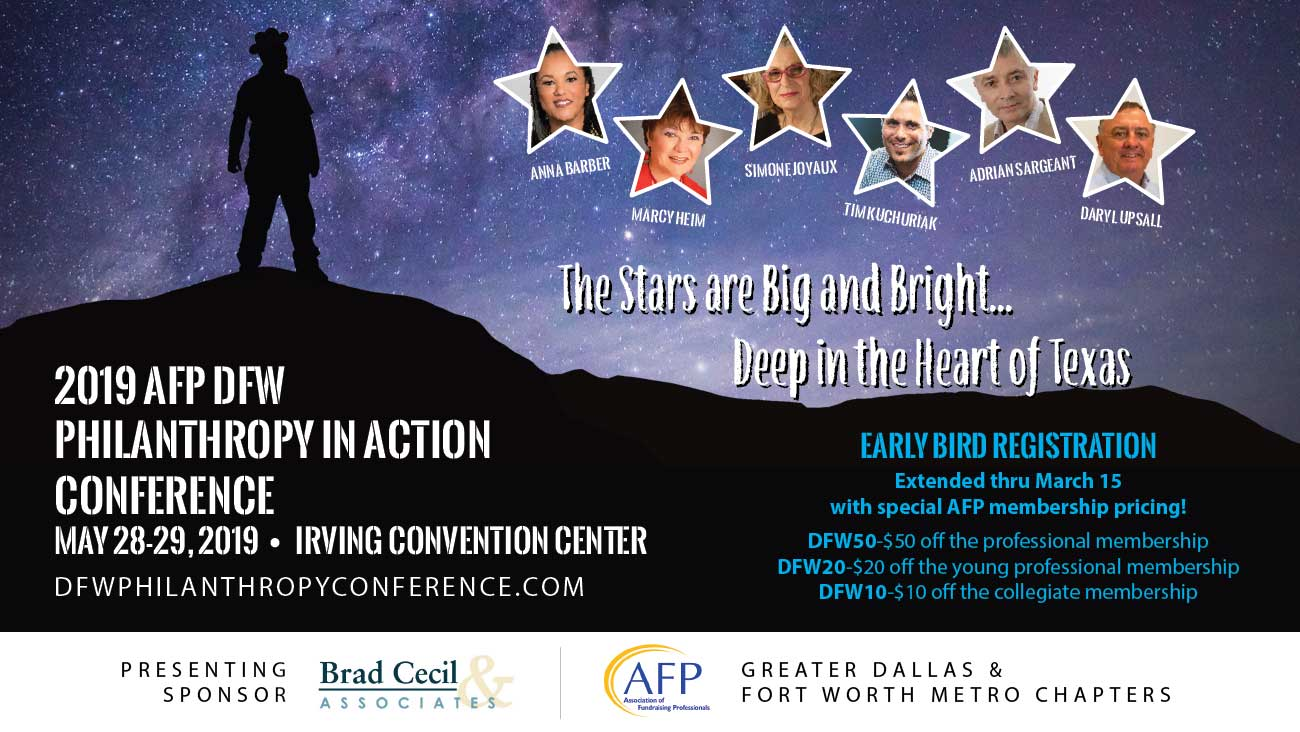 Learn More About the DFW Philanthropy Conference